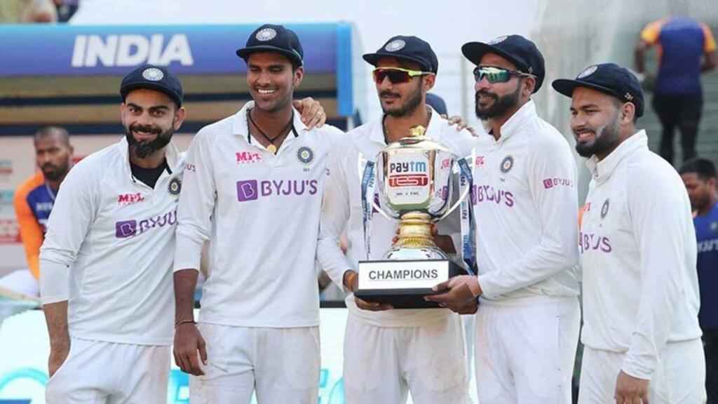 Indian men's Test Team