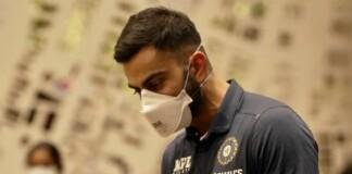 Virat Kohli reaching England