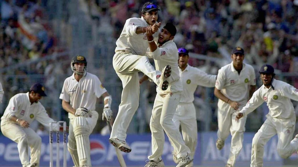 India vs Australia 2001 Eden Gardens