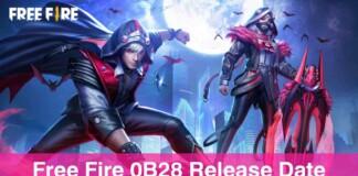free fire OB28