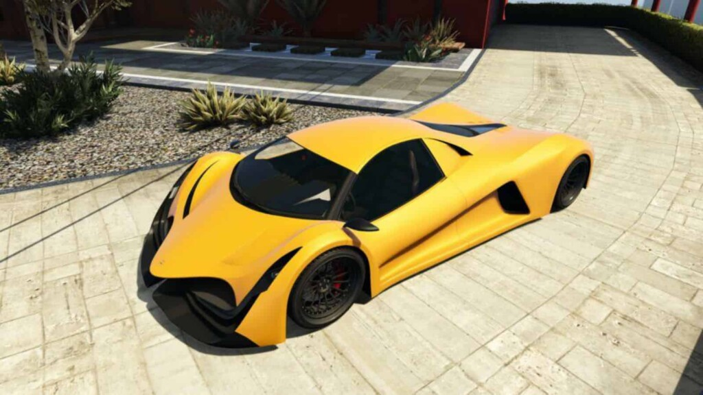 Top 5 Fastest Cars In GTA Online Based On Acceleration