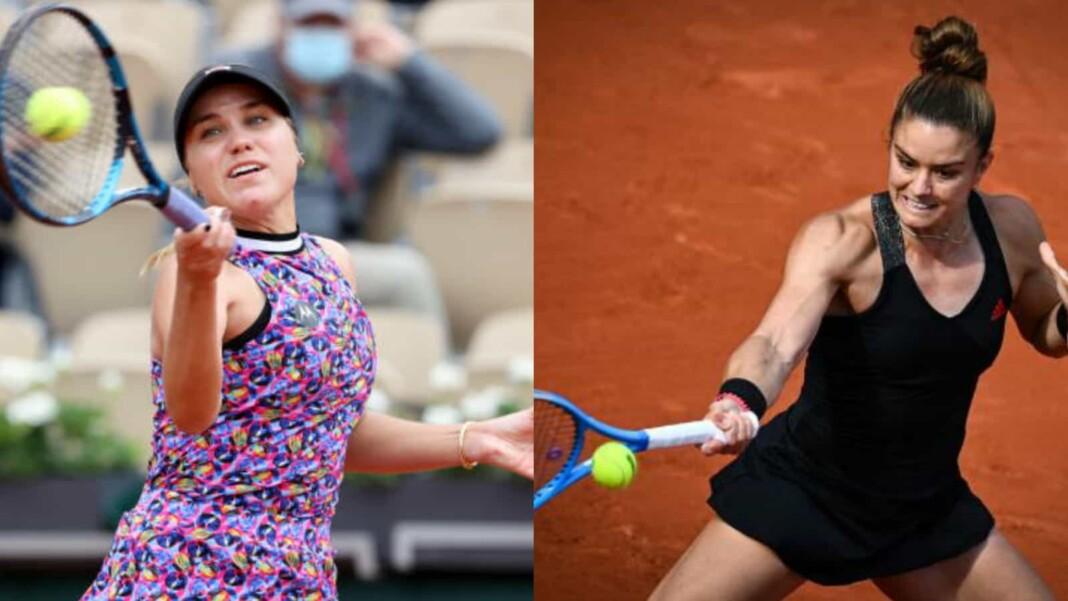 Sofia Kenin vs Maria Sakkari