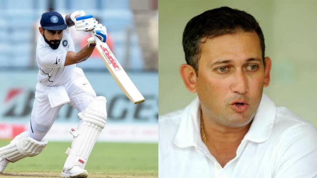 Virat Kohli and Ajit Agarkar