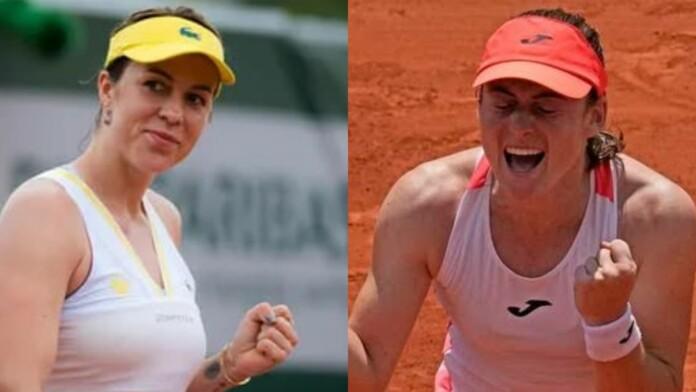 Anastasia Pavlyuchenkova and Tamara Zidansek