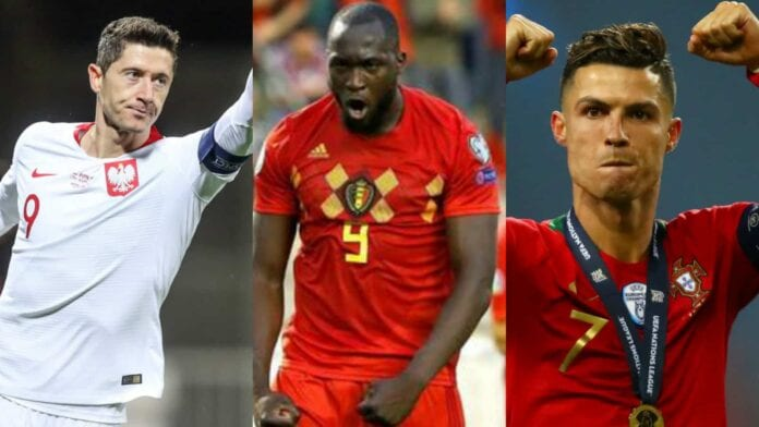 Contenders for the Golden Boot at Euro 2020