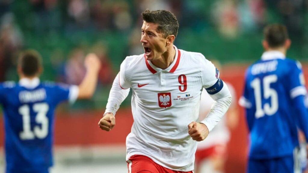 Robert Lewandowski - Poland captaina at Euro 2020