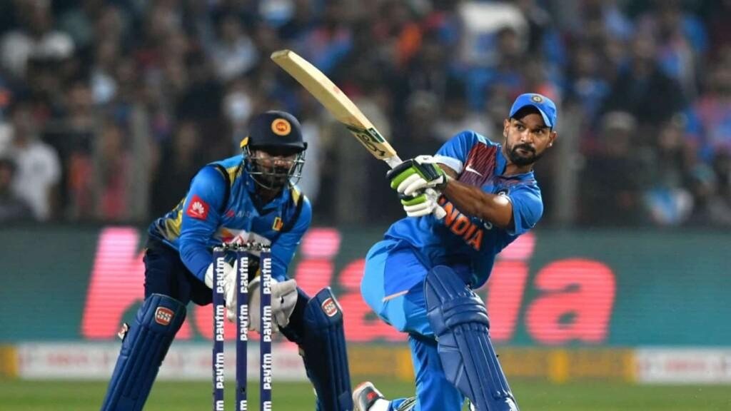 Dhawan India vs Sri Lanka