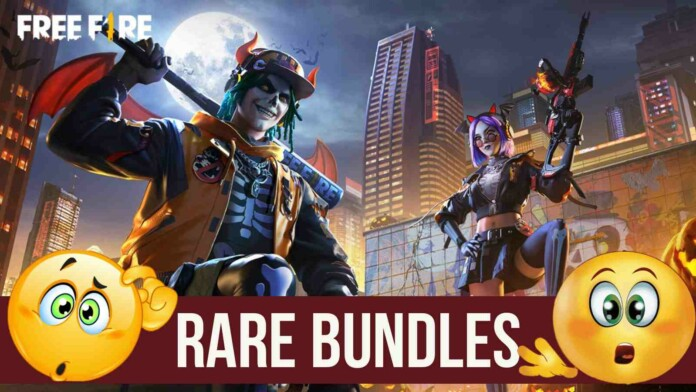 free fire rare bundles