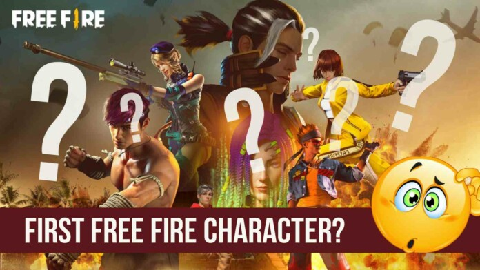 first free fire character