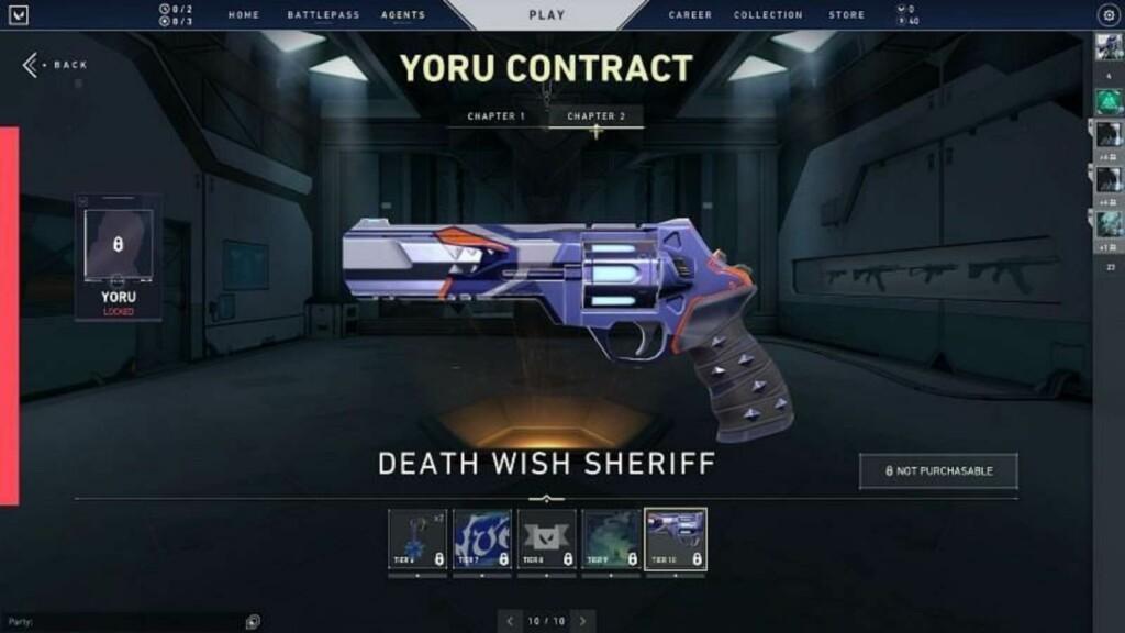 Valorant Agent Contract