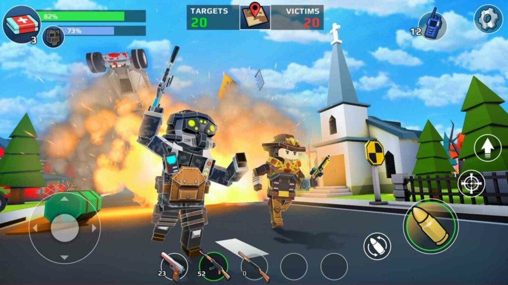 PIXEL'S UNKNOWN BATTLE GROUND - Battle Royale Games on Mobile