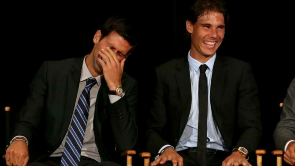 Novak Djokovic and Rafael NadalNovak Djokovic and Rafael NadalNovak Djokovic and Rafael NadalNovak Djokovic and Rafael Nadal