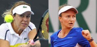 Anastasia Pavlyuchenkova and Barbora Krejcikova