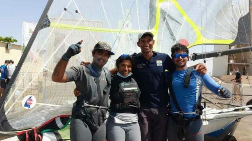 Indian Sailing Contingent for Tokyo Olympics