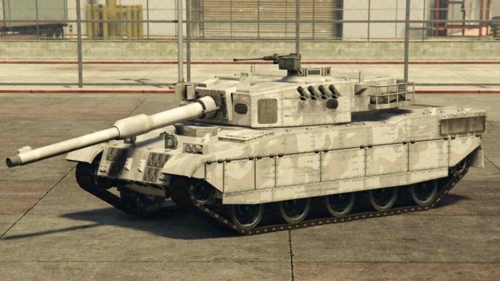 Rhino Vs Khanjali GTA Online