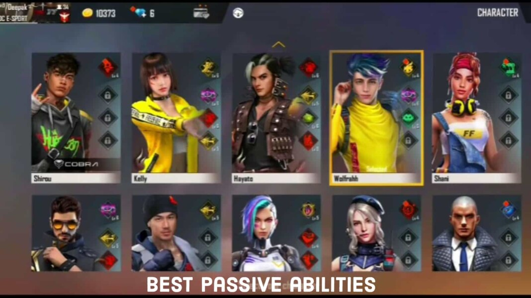 best female characters in free fire