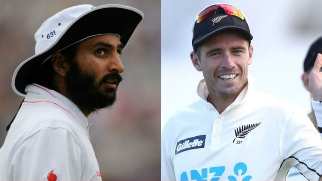 Monty Panesar and Tim Southee