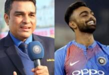 Sanjay Manjrekar and Jaydev Unadkat