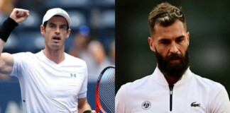 Andy Murray and Benoît Paire