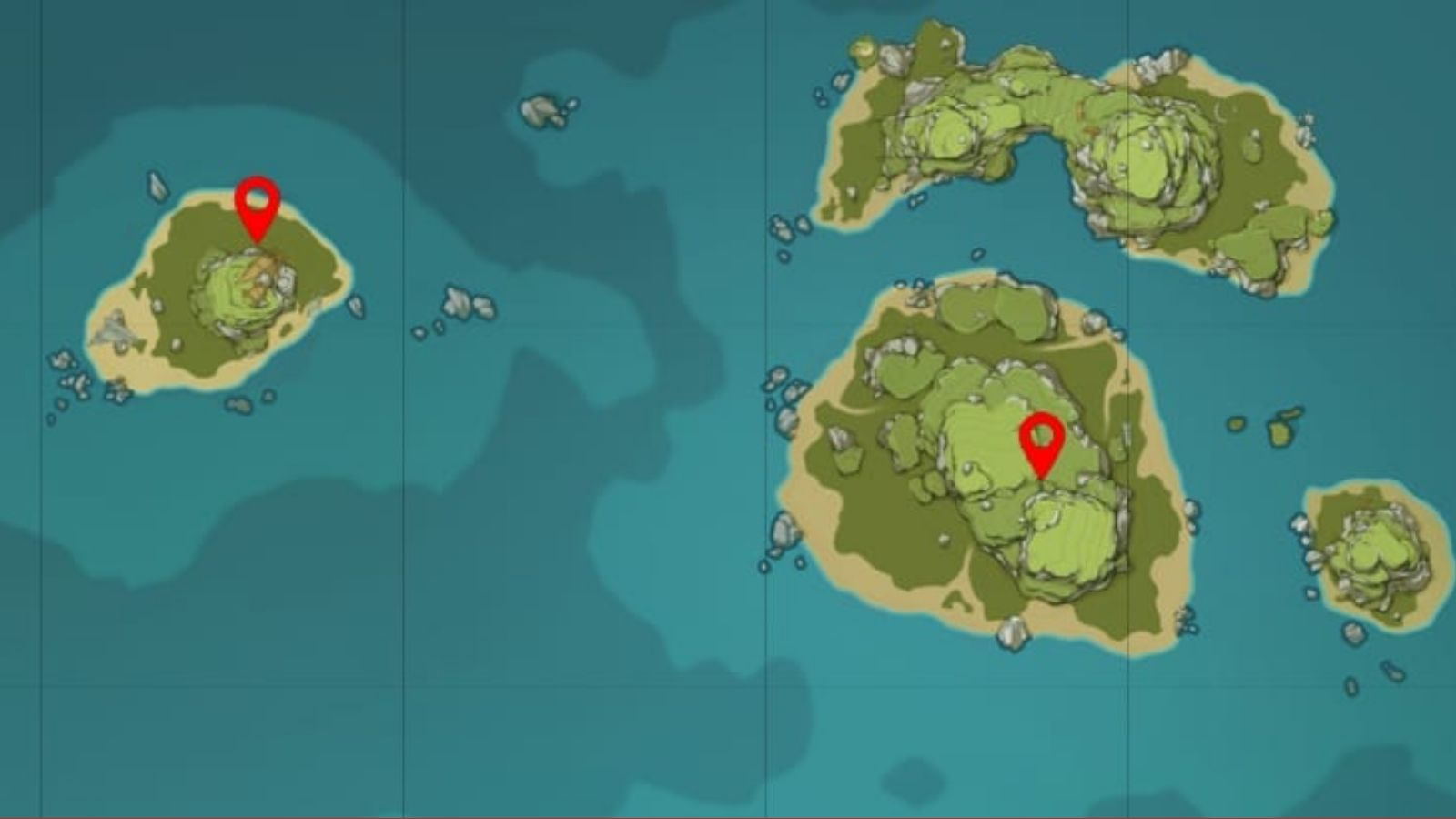 Genshin Impact Mural Locations: The Other Side Of Isle And Sea Side Quest