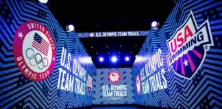 US Olympic trials for swimming
