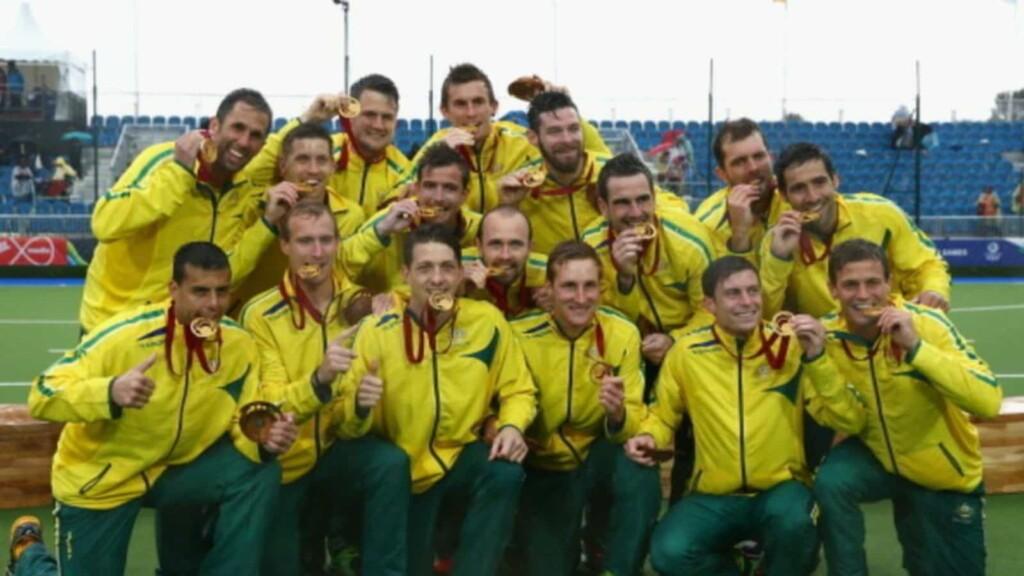 Australian Men's hockey squad
