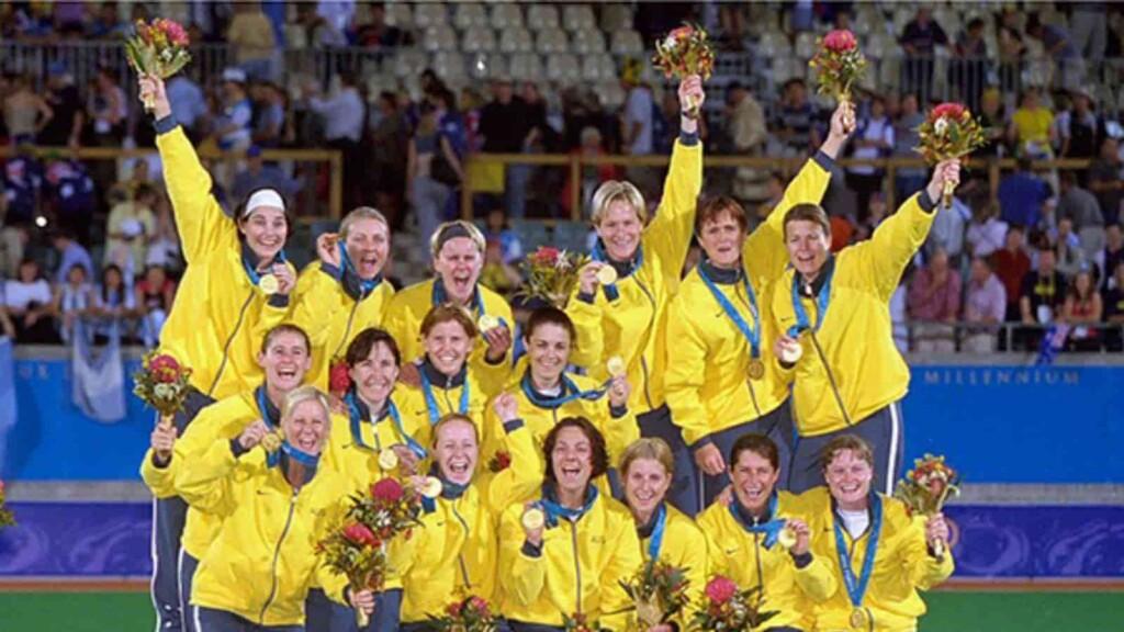 Australian women's hockey team
