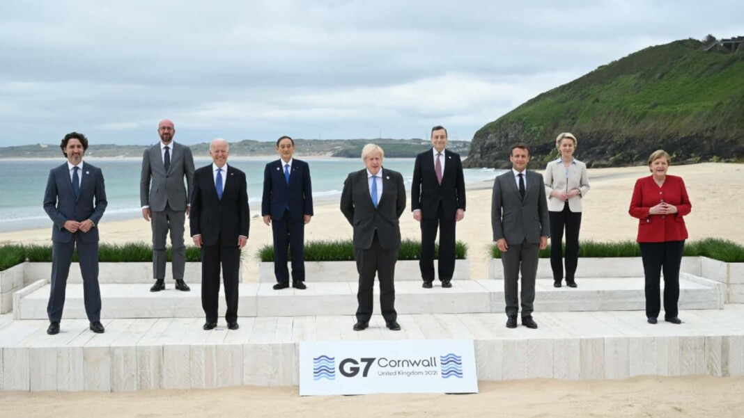 Leader of the G7 summit