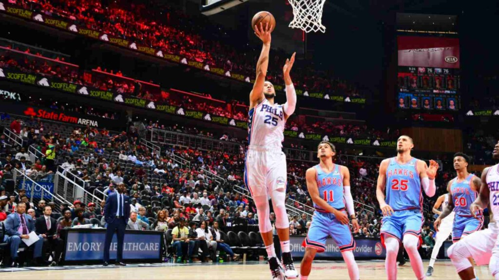Atlanta Hawks vs Philadelphia 76ers live stream