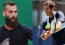 Benoit Paire and Andy Murray