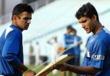 Rahul Dravid and Sourav Ganguly