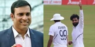 VVS Laxman and Ravi Ashwin, Ravindra Jadeja