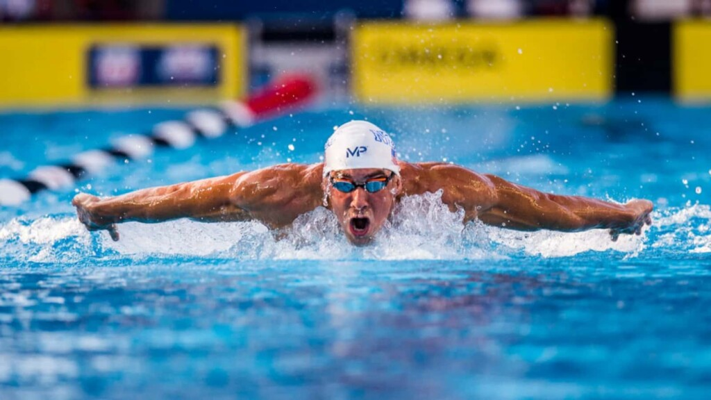 American swimmer