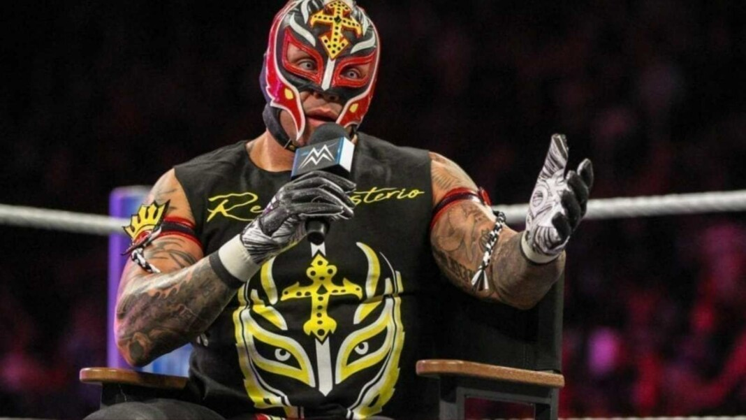 wwe hell in a cell rey mysterio