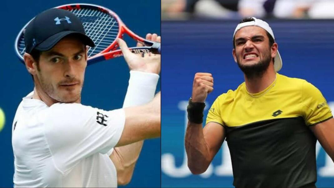 Andy Murray and Matteo Berrettini