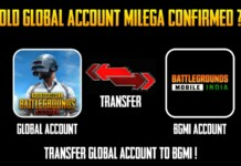 Battlegrounds Mobile India to Allow Data Transfer