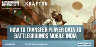 Transfer Player Data from PUBG Mobile to Battlegrounds Mobile India