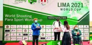 Rubina Francis secures a spot at the Tokyo Paralympics