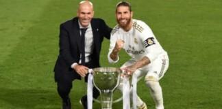 Ramos and Zidane