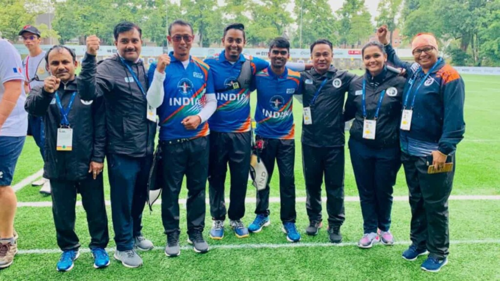 Indian men's archery team bound to the Tokyo Olympics