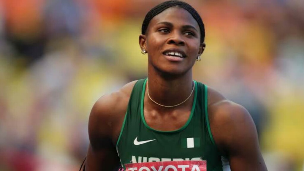 Blessing Okagbare creates history at the Nigerian Olympic Trials