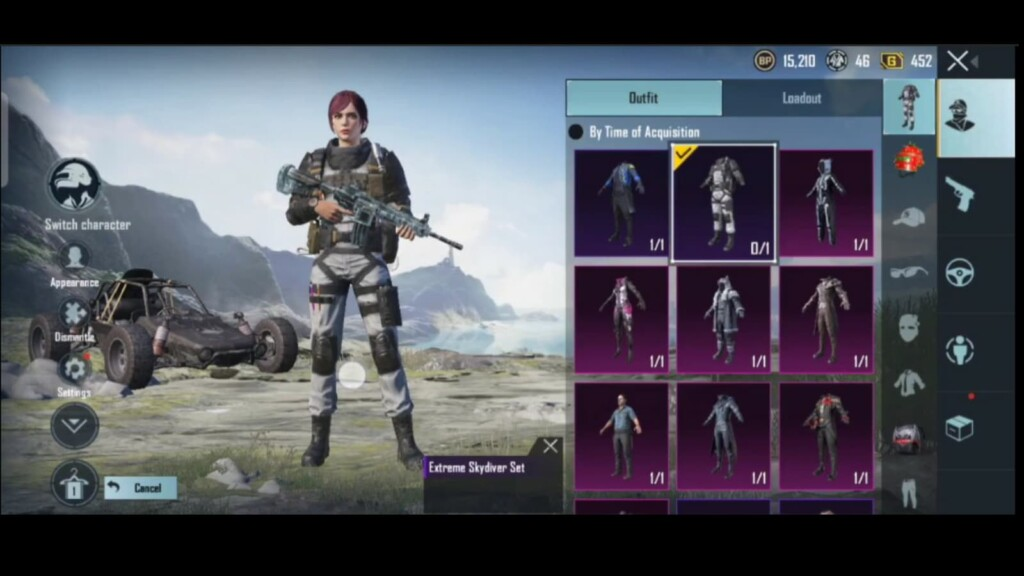 Free Pan skin and exclusive outfit in BGMI