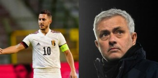 Mourinho criticizes Eden Hazard of being 'awful in training'; reigniting his personal with the Belgian