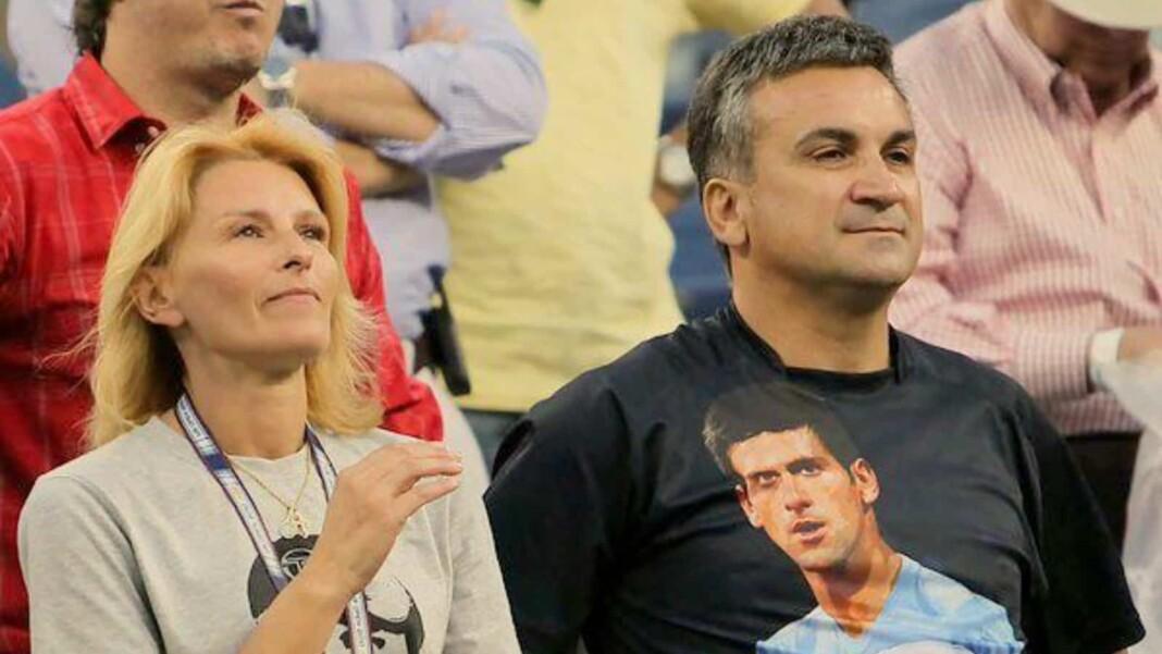 Novak Djokovic's parents