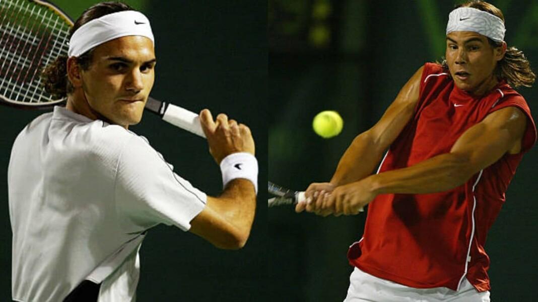 Roger Federer and Rafael Nadal