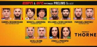 UFC Vegas 29: Chan Sung Jung vs Dan Ige Prelims
