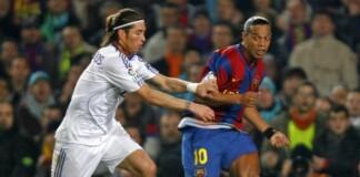 Ronaldinho and Ramos