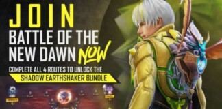 shadow earthshaker bundle in free fire