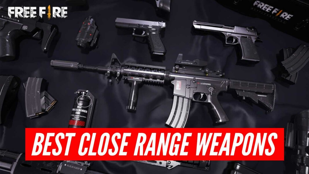 best short range gun in free fire