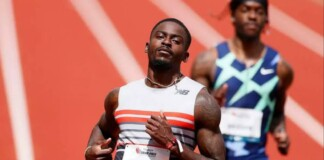 Trayvon Brommel qualifies for the Tokyo Olympics